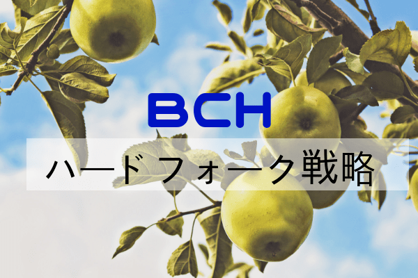 BCHハードフォーク戦略